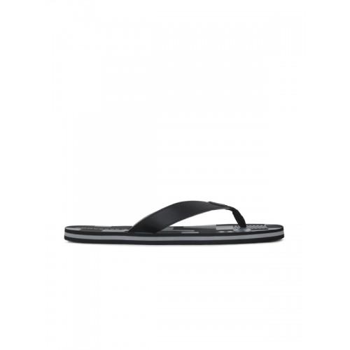 7283ec3c2e81 Buy Converse Men Black   Blue Printed Thong Flip-Flops online ...