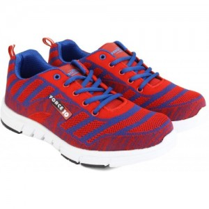 Force 10 by Liberty Running Shoes For Women(Red)