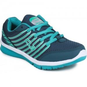 Columbus Ruhi-06 Teal Green Running Shoes For Women