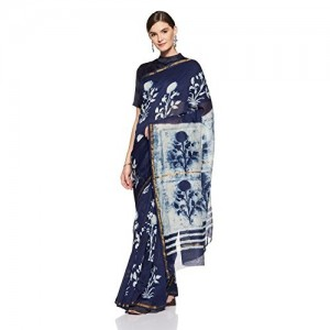 Gocoop Silk Saree With Blouse Piece