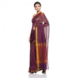 Gocoop Cotton Saree With Blouse Piece