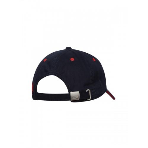 0a43f2cdc6a Buy U.S. Polo Assn. Men Navy Blue Solid Baseball Cap online ...