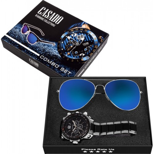 Casado Hybrid Watch +sunglasses - For Men