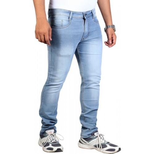 Lzard Light Blue SlimFit Solid Jeans