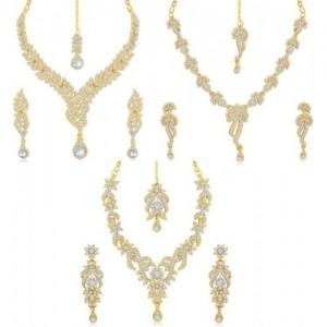 Sukkhi Golden Metal  Zinc Jewel Set