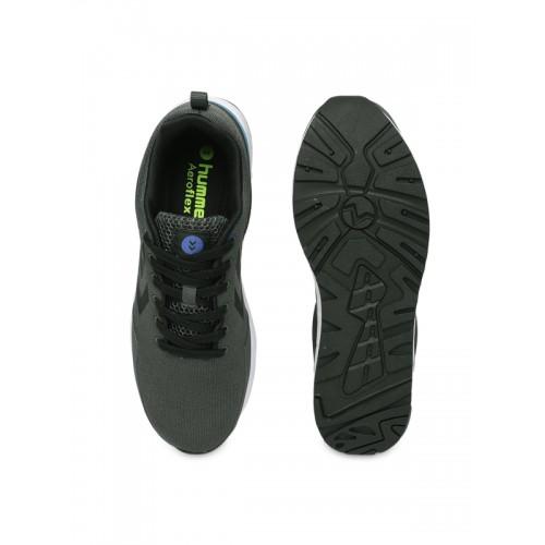 hummel Unisex Grey Aero PR Running Shoes
