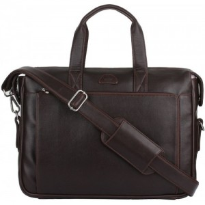 K London Brown Messenger Bag