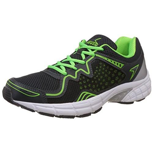 Power Men's Black Running Shoes