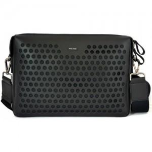 Police Black Messenger Bag