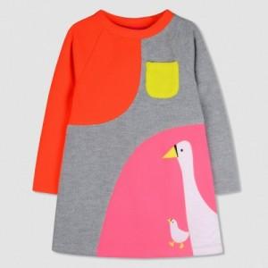 Cherry Crumble California Pink Midi/Knee Length Casual Dress
