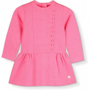 Cherry Crumble California Pink Short Casual Dress