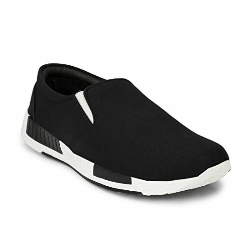 Levanse Black Casual Shoes for Men