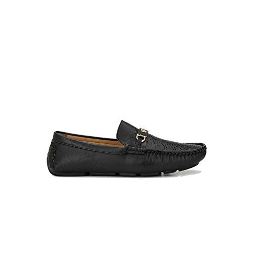 Levanse Black Casual Loafers for Men