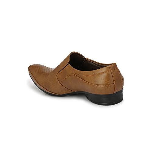 Levanse Tan Formal Shoes for Men