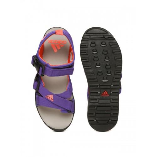 69694e987d2d6f Buy Adidas Women Purple Gladi Sports Sandals online