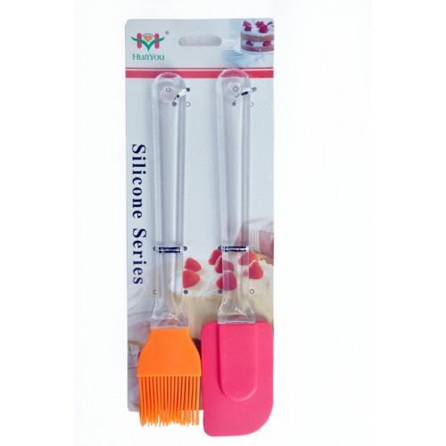Priya Exports AC12 Plastic Ladle(Pink, Orange, Pack of 2)