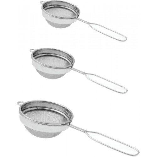 Dynore Classic wire handle Tea Strainer (Pack of 3)