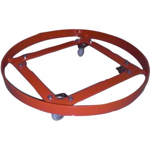 AB Engineers AB -15 Orange Stainless Steel Gas Cylinder Trolley