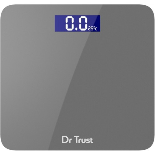 Dr. Trust Platinum Rechargeable Digital Personal Weighing Scale Electronic Weight Machine For Human Body with Temperature Display