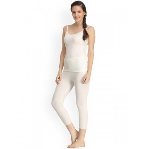 e9a4b749bdffaf Buy Kanvin Off-White Self-Design Thermal Set NEW2110OW2180 online ...