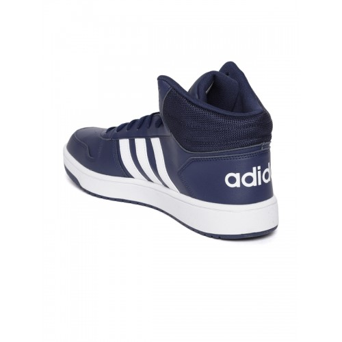 ADIDAS HOOPS 2.0 MID Basketball Shoes For Men(Blue)