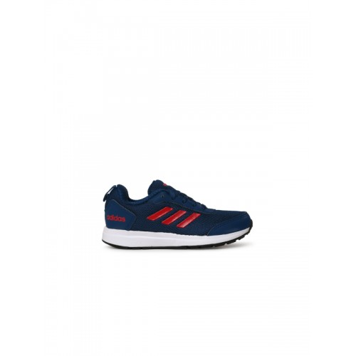 Adidas Boys Blue ELEMENT V 3 K Running Shoes