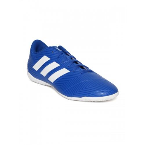 569d434b3f4 Buy Adidas Men Blue Nemeziz Tango 18.4 Indoor Printed Football Shoes ...