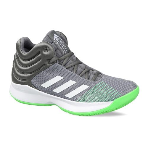 low priced 3f98b 04ae0 ... Adidas Kids Grey Pro Spark 2018 Basketball Shoes ...