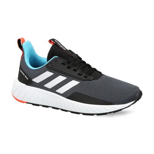 Buy Adidas Men Grey & Black QUESTAR Drive Running Shoes