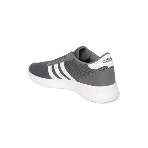 ADIDAS LITE RACER Running Shoe For Men(Grey)