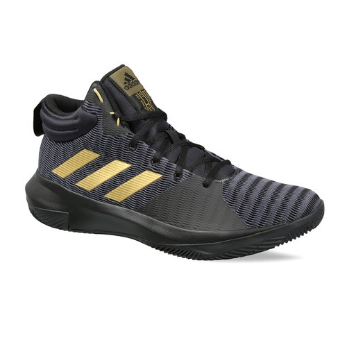 53d08b8f8c3b Buy Adidas Men Black   Grey Pro Elevate 2018 Basketball Shoes online ...