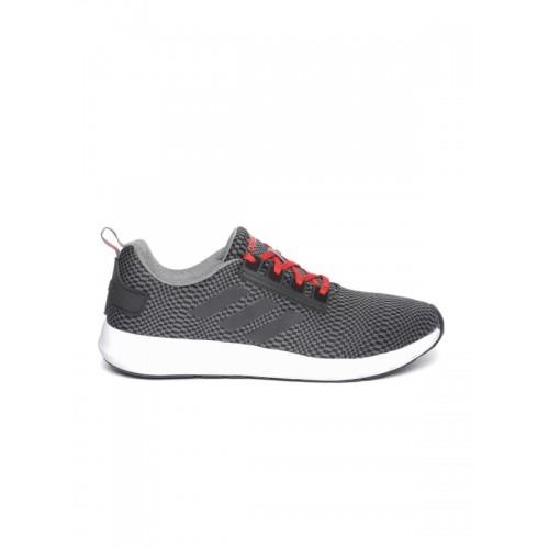 Adidas Men Grey & Black ARIUS 1 Running Shoes