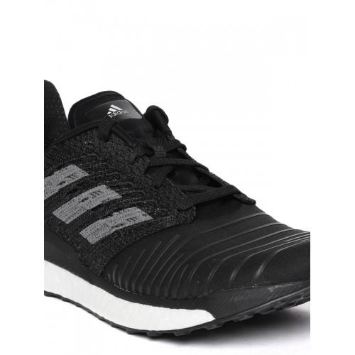 1486bcfcc3f Buy Adidas Men Black Solar Boost Striped Running Shoes online ...
