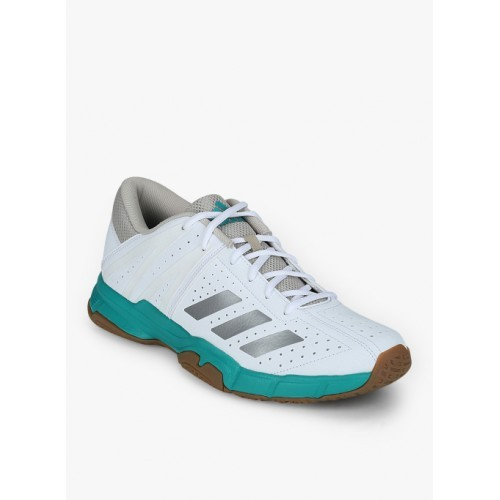 8e42241a374414 Buy Adidas Wucht P3 White Badminton Shoes online