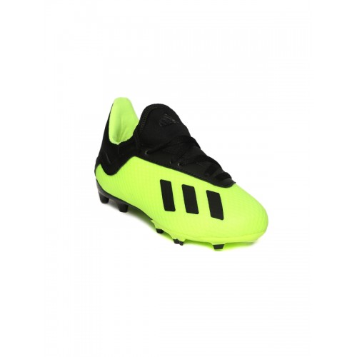 info for 1ae08 ca21d ... Adidas Men Florescent Green  Black X 18.1 FG Football Shoes ...