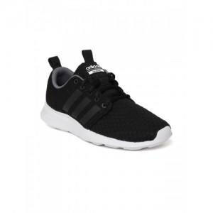 6578f296cf504 Adidas Men Black Cloudfoam Swift Racer Running Shoes
