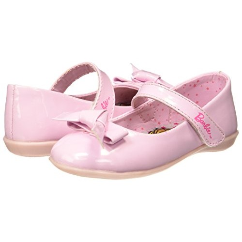 Barbie Pink Synthetic Ballet Flats