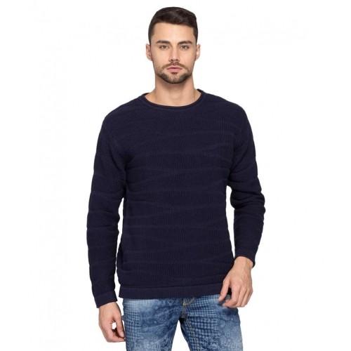 Buy Spykar Navy Blue Full Sleeve T-Shirt online  bfc87fbc692