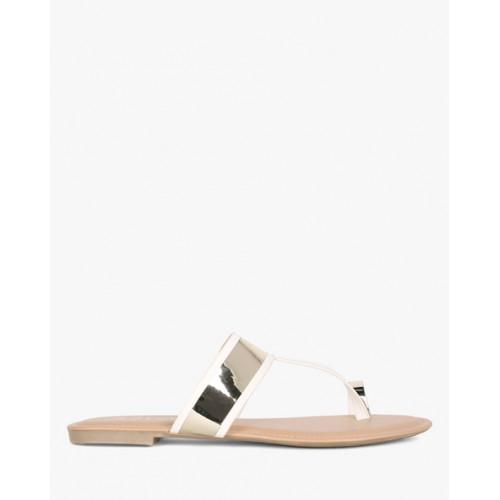 838572eb1 Buy AJIO Toe-Ring Flat Sandals online