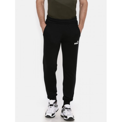 3289b626e8a8 Buy Puma Black Elevated ESS Slim Fit Joggers online