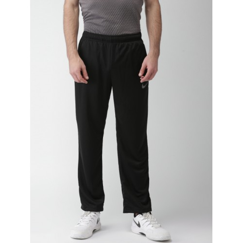new york 09abd 086bb ... Nike Men Black AS M NK PANT EPIC KNIT Solid Training Track Pants ...