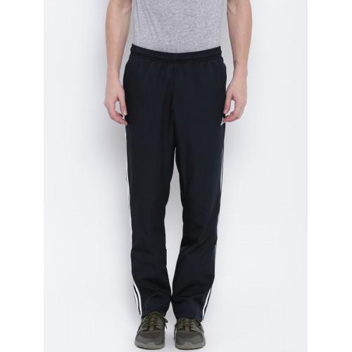 Buy Adidas Men Black Essential 3 Stripes WVN Track Pants
