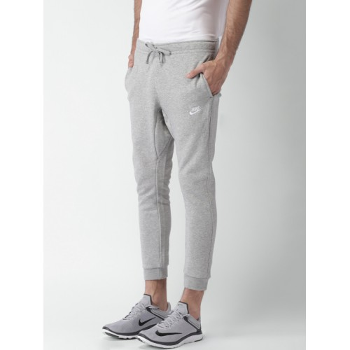 NIKE Grey Melange AS M NSW Standard Fit Track Pants