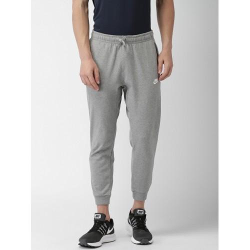 Nike Grey Melange CF JSY CLUB KNIT Joggers