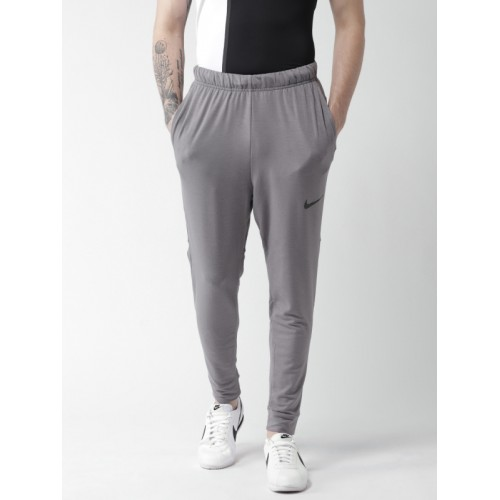 Nike Men Grey AS Dry TPR HPRDRY LT Standard Fit Training Joggers