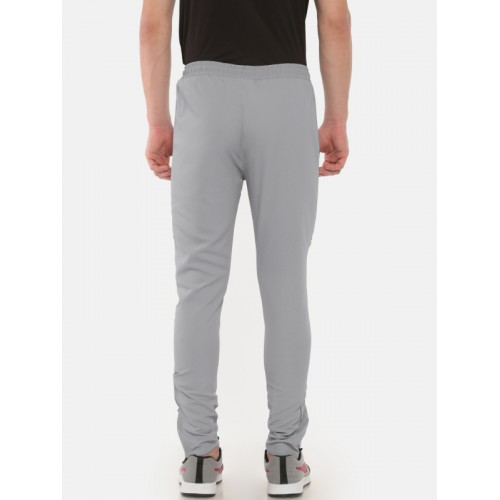 Proline Men Active Grey Straight Fit Solid Track Pants