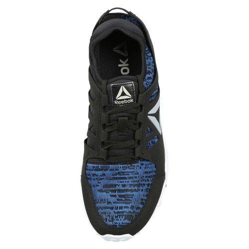 e1eab2d4ce5 Buy Reebok Men Black   Blue Travel PRO 2.0 Running Shoes online ...