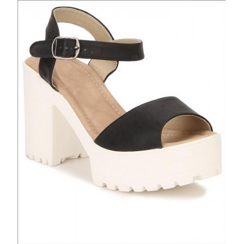 Shoe Cloud Women Black Heels