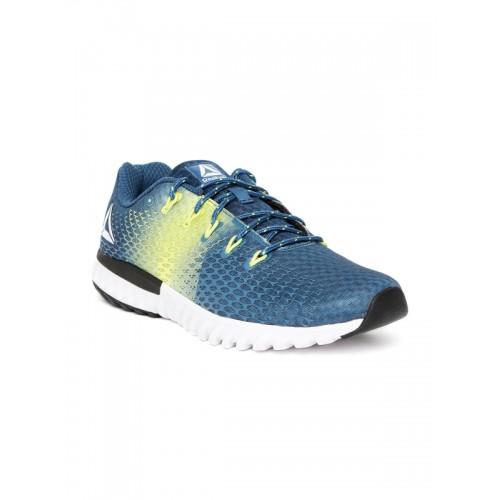 501128a421e1 Buy Reebok Men Teal Blue Elite Runner LP Running Shoes online ...