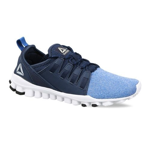 Reebok Men Blue Colourblocked Flex O Fusion LP Running Shoes
